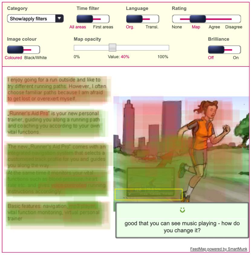 Design Varianten testen