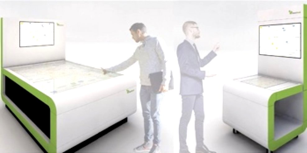 Multitouch table vs computer vision